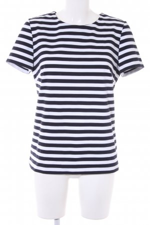 Michael Kors Gestreept shirt wit-donkerblauw gestreept patroon zakelijke stijl