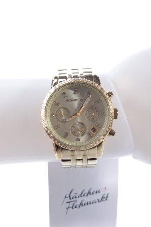 Michael Kors Ritz Chronograph Armbanduhr goldfarben