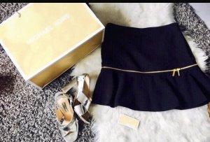 Michael Kors Midi Skirt black-gold-colored