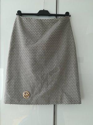 Michael Kors Rock Gr. 36 beige Braun geometrisches Muster