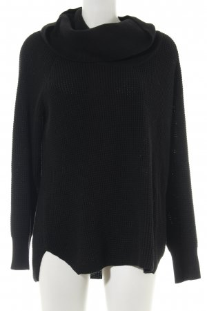 Michael Kors Turtleneck Sweater black casual look