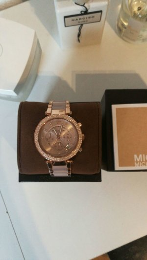 Michael  Kors rose watch swarowski steine