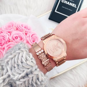 Michael Kors Rosegold Stainless Steel • Bloggerstyle •