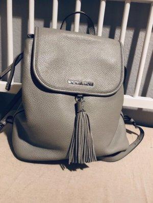 Michael Kors Backpack light grey leather