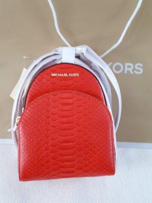Michael Kors Shoulder Bag orange leather