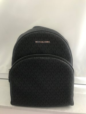 Michael Kors Laptop Backpack black-anthracite