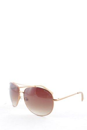 Michael Kors Gafas de sol redondas color bronce elegante