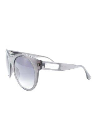 Michael Kors runde Sonnenbrille dunkelbraun Casual-Look