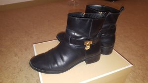 Michael Kors RYAN ANKLE BOOT Schwarz Leder