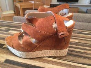 Michael Kors Platform Sandals brown