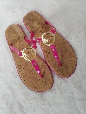 "MICHAEL KORS Sandalen ""Charm Jelly"", Gr.38, pink"