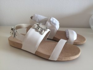 Michael Kors Comfort Sandals white-beige leather