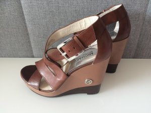 Michael Kors Strapped Sandals brown leather