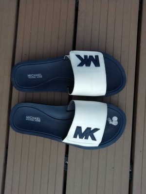 Michael Kors Zuecos azul oscuro