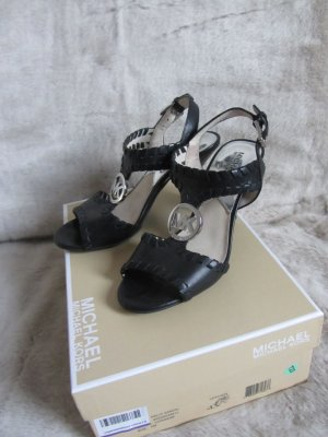 Michael Kors High-Heeled Sandals black leather
