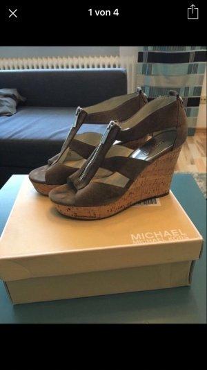 Michael Kors Sandaletten mit Keilabsatz