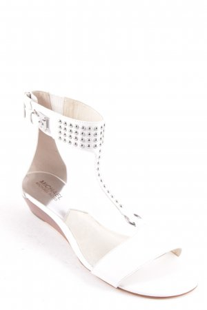 Michael Kors High-Heeled Sandals white casual look