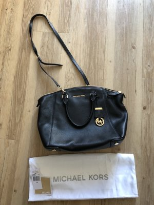 Michael Kors Satchel LG Riley schwarz