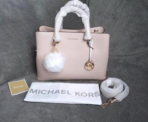 Michael Kors Savannah LG Soft Pink Hellrosa + Pom ♥