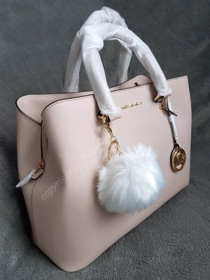 Michael Kors Savannah LG Soft Pink + Pom ♥