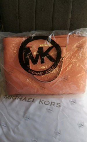 Michael Kors Savannah LG Tote Peach