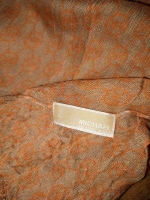 Michael Kors Sjaal beige-donker oranje