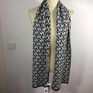 MICHAEL KORS Schal in schwarz/weiß,  NEU