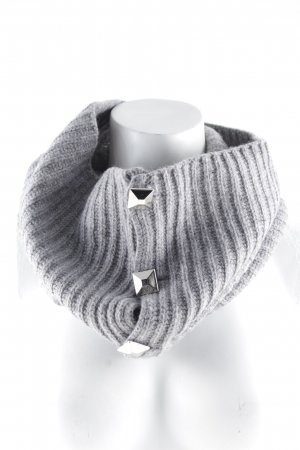 Michael Kors Tube Scarf grey casual look