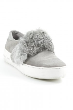 Michael Kors Slip-on Shoes grey street-fashion look