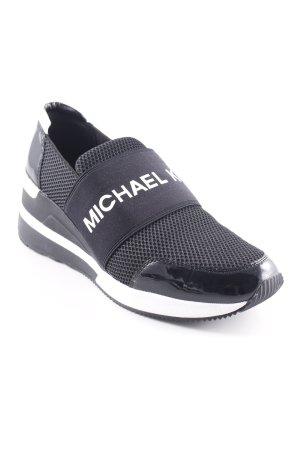 "Michael Kors Schlüpfsneaker ""Felix Trainer Black"""
