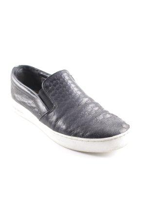 Michael Kors Schlüpfsneaker schwarz-weiß Casual-Look