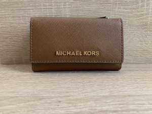 Michael Kors Estuche para llaves marrón-color oro