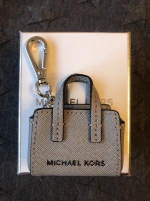 Michael Kors Llavero gris-color plata