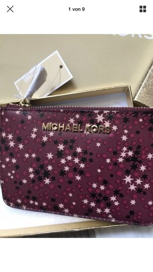 Michael Kors Key Chain dark red-bordeaux