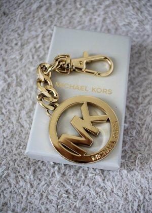 Michael Kors Schlüsselanhänger mit Logo im Goldton