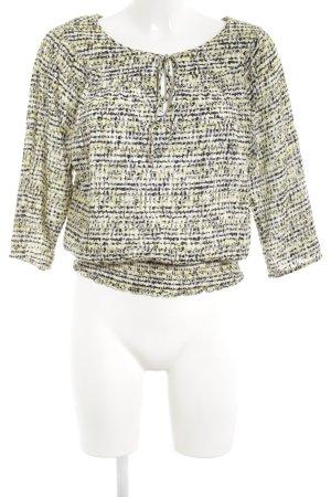 Michael Kors Schlupf-Bluse abstraktes Muster extravaganter Stil