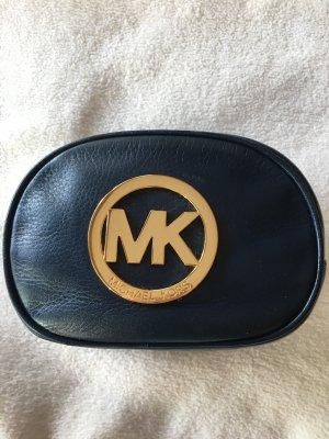 Michael Kors Clutch donkerblauw-goud