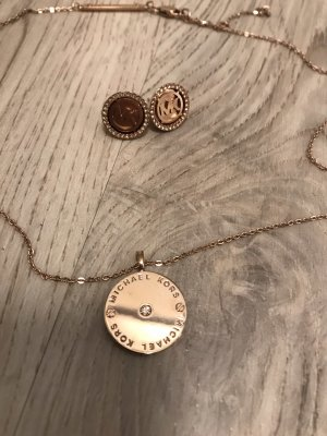 Michael Kors Necklace rose-gold-coloured