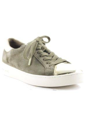 Michael Kors Chaussures à lacets gris vert-doré style décontracté