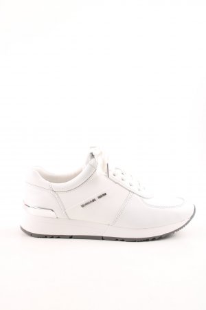 "Michael Kors Schnürsneaker ""Allie Trainer Flat Optic White"""