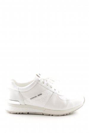 "Michael Kors Schnürsneaker ""Allie Wrap Trainer Optic White"" weiß"