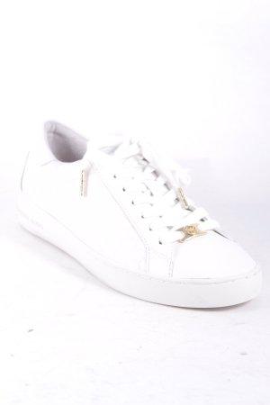 "Michael Kors Schnürsneaker ""Colby Sneaker Embossed Leather Optic White 39"""