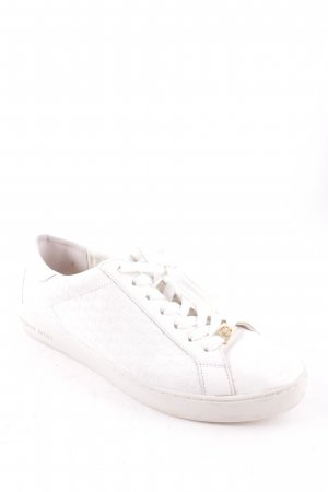"Michael Kors Schnürsneaker ""Colby Sneaker Embossed Leather Optic White """