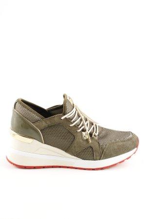 Michael Kors Lace-Up Sneaker khaki casual look
