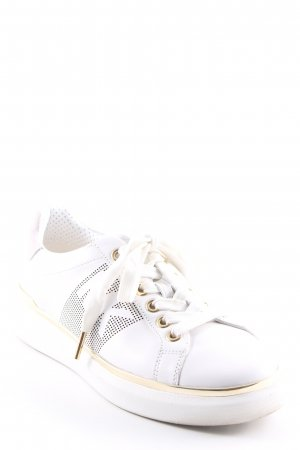 "Michael Kors Schnürsneaker ""Max Lace Up Optic/Pale Gold"""