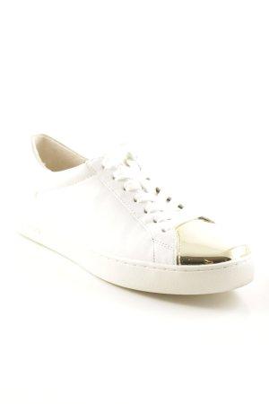 Michael Kors Sneaker stringata bianco-oro stile casual