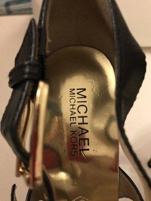 Michael Kors Plateauzool Sandalen met Hoge Hakken veelkleurig