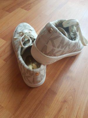 Michael Kors Sneakers met veters wolwit