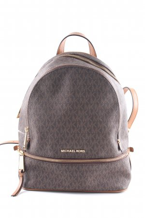 "Michael Kors Schulrucksack ""Rhea Zip MD Backpack Brown"""