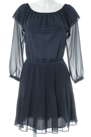 Michael Kors schulterfreies Kleid dunkelblau Elegant